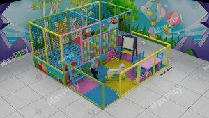 Kod 24133 400cm x 400cm Çocuk Oyun Parkı